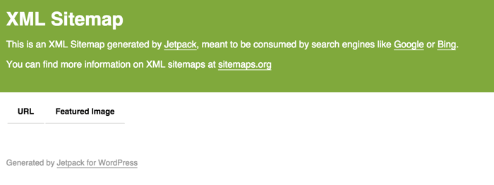 Sitemap generated by Jetpack WordPress