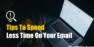8 Tips To Spend Less Time On Your Email