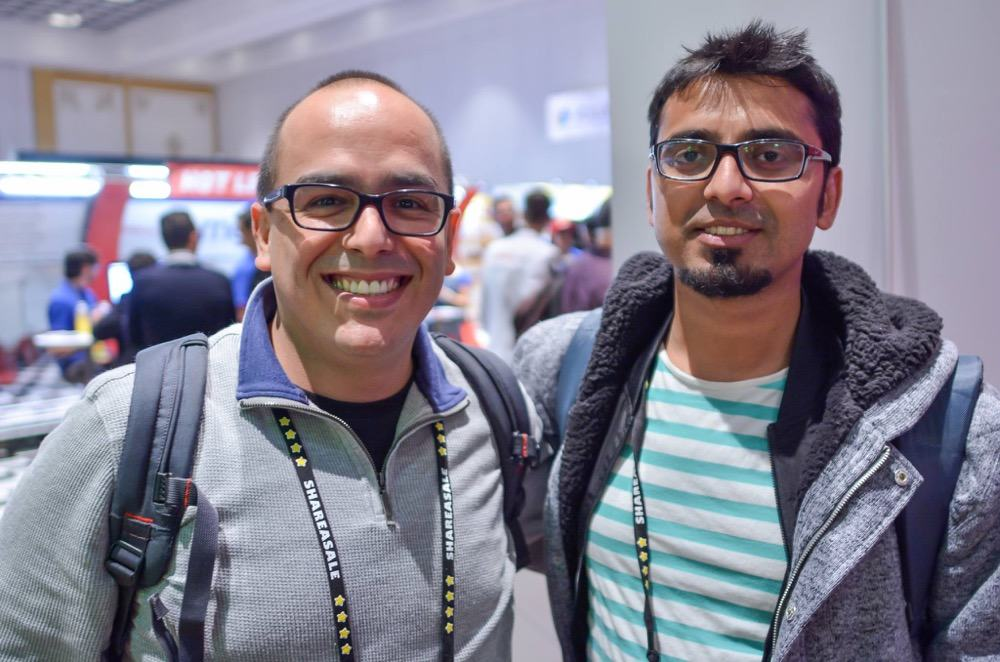 Harsh Agrawal & Oscar Blogger ASW16