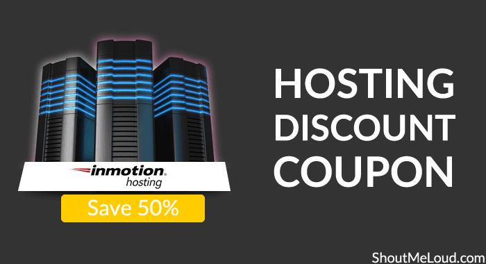 InMotion Hosting Discount Coupon: Save 50%