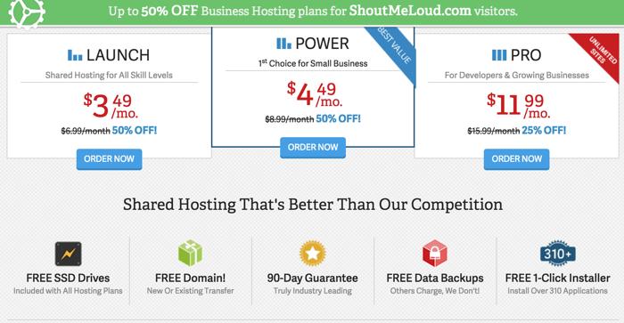 InmotionHosting Discount code