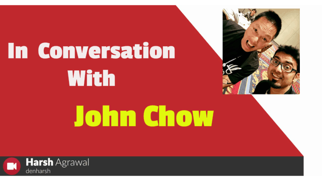 In Conversation with John Chow