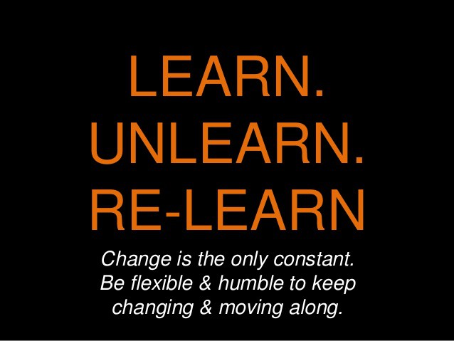 Learn unlearn relearn