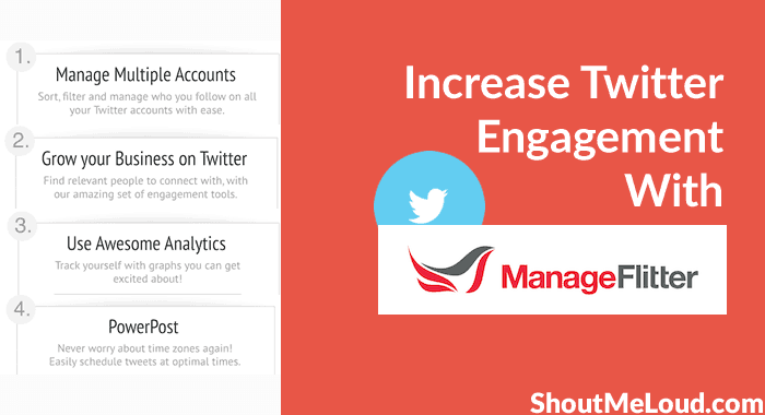 ManageFlitter - Increase Twitter Engagement