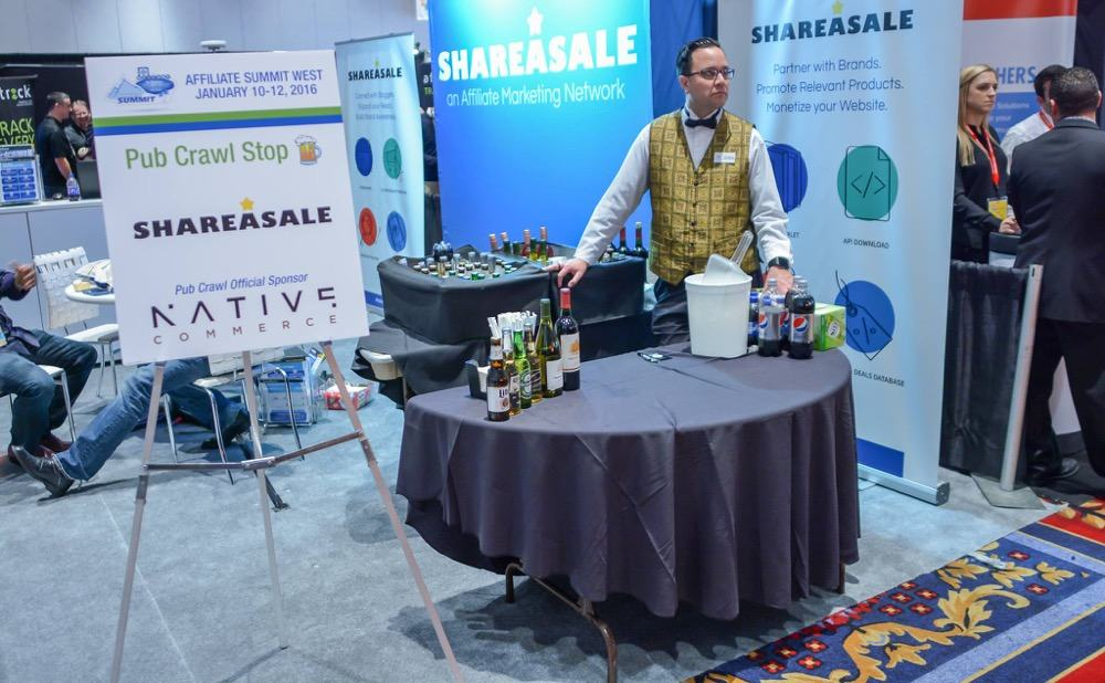 ShareAsale stall