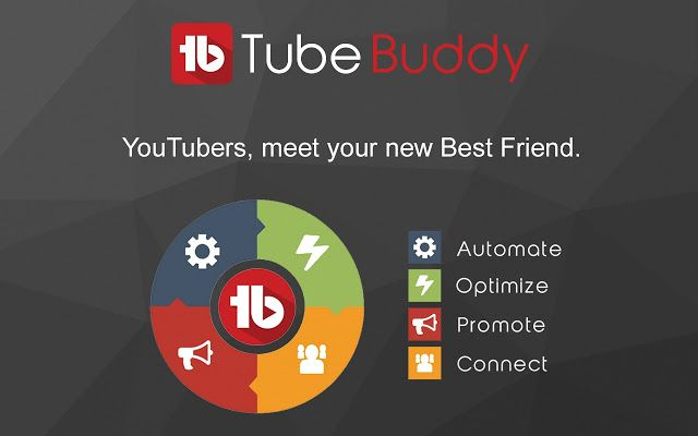 Tubebuddy Youtube Publisher tool