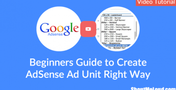 Beginners Guide to Create AdSense Ad Unit Right Way