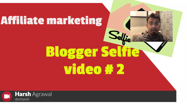 Link Cloaking Benefits: Blogger Selfie Video #2