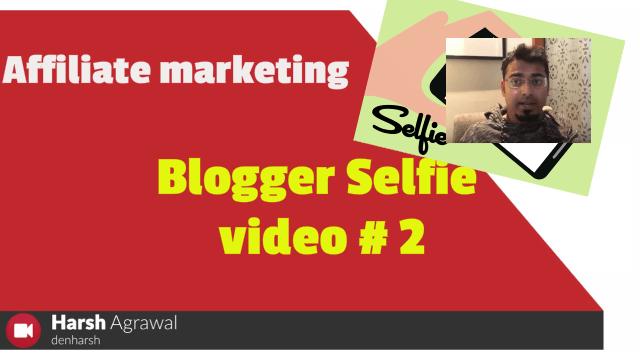 Link Cloaking Benefits: Blogger Selfie Video #2