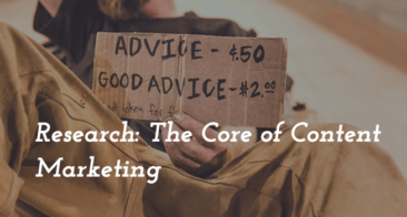 Research: The Core of Content Marketing
