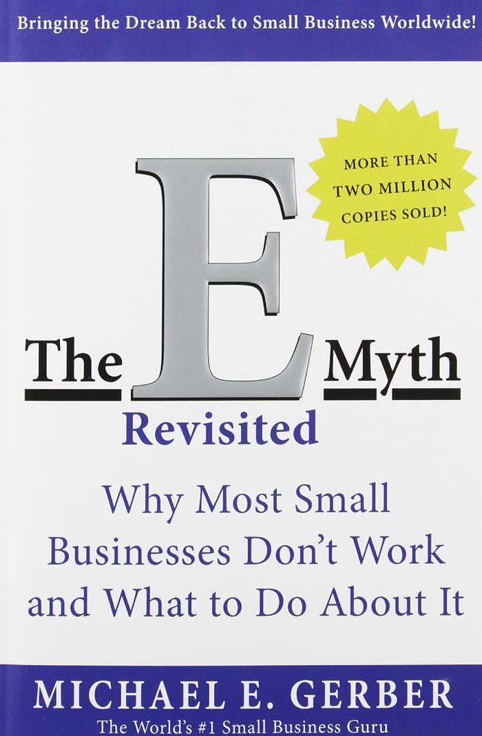 21 books to read before starting your online business the e myth revisited accmission Gallery