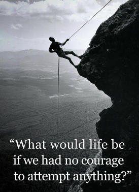 Courage motivation