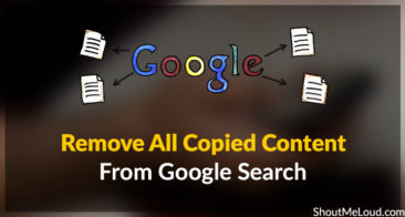 How To Remove All Copied Content From Google Search