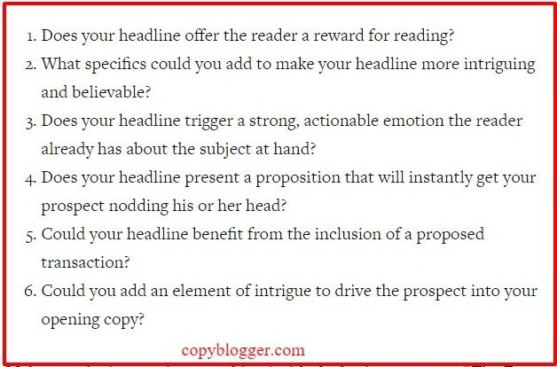 Writing Headlines That Get Results