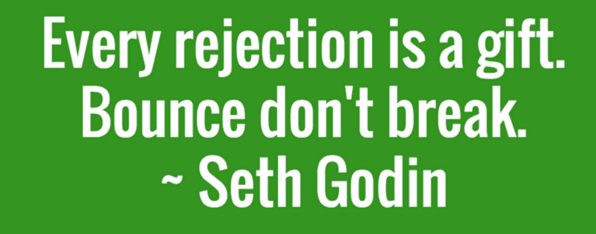 Rejection Seth Godin