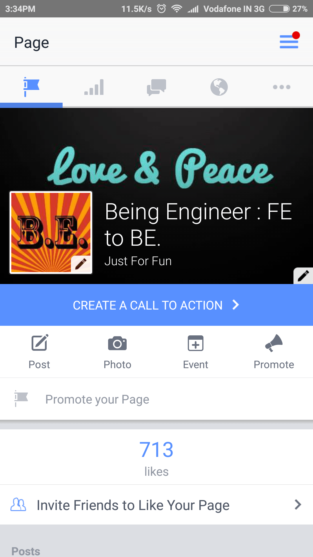 Facebook Pages Android App