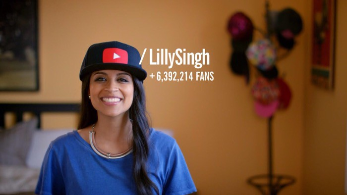 Lilly singh Youtuber Selfie video tips
