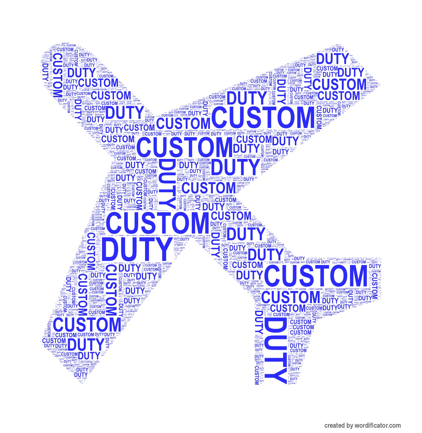 Custom Duty Online Income