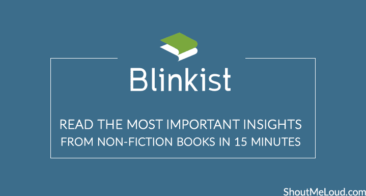 Blinkist: Ever Read 4 Books in One Day? Now you Can!