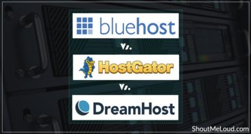 Bluehost Vs HostGator Vs DreamHost [Web Hosting Comparison]