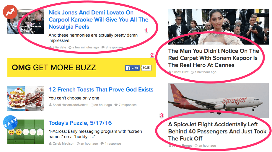Buzzfeed Titles - Perfect Example