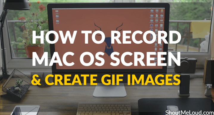 Create Gif images on MAC