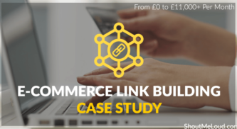 From £0 to £11,000+ Per Month E-Commerce Link Building Case Study