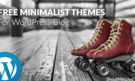 10 New & Free Minimalist Themes for your WordPress Blog