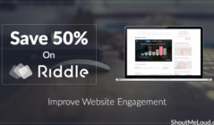 Save 50% on Riddle: Improve Website Engagement