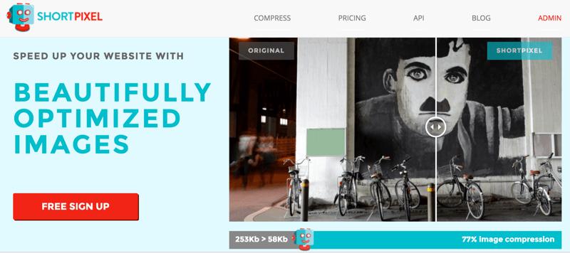 Shortpixel WordPress Image Optimization service