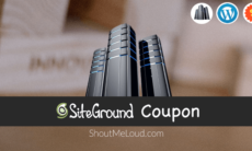 SiteGround Coupon: Special 60% off on All Shared Hosting Plans
