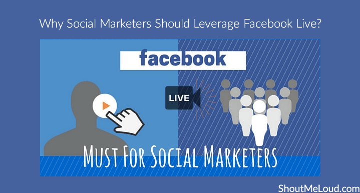 Social Marketers Facebook Live