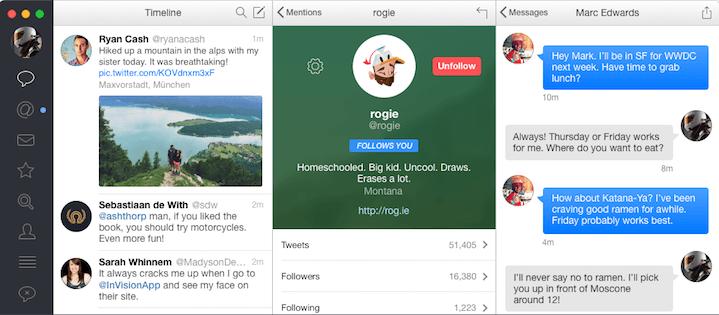 Tweetbot Interface