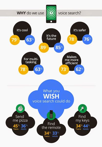 Why do we use Voice search