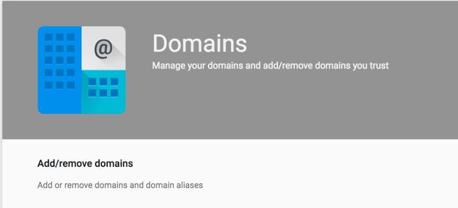 add remove domain alias