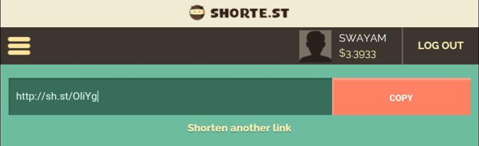 Shorte-st-link-shortening-example