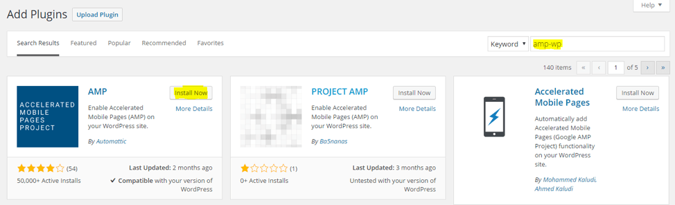 Once you download and install the plugin, converting your pages to AMP is surprisingly easily – simply add /amp/ to the end of the page (e.g. sevenatoms.com/blog/amp/).