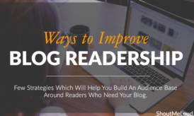 6 Ways to Improve Your Blog Readership