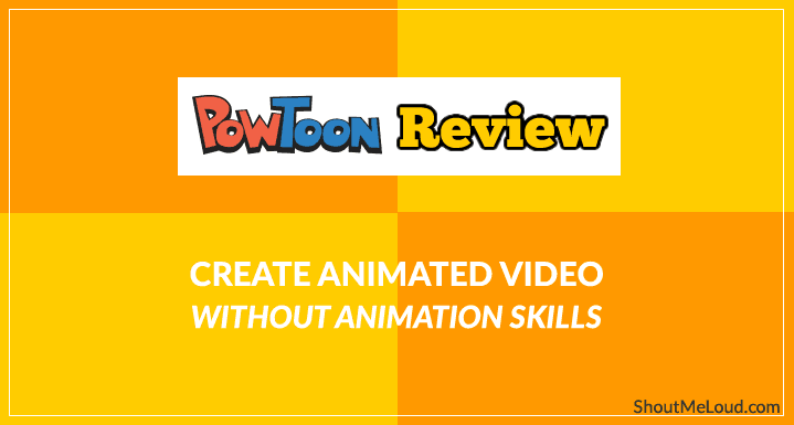 PowToon Review: Create Animated Video Without Animation Skills