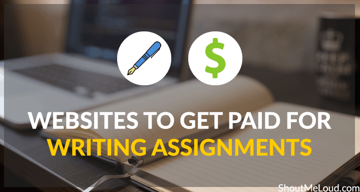 Where to Get Writing Assignments