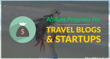 List of Travel Affiliate Programs For Travel Bloggers