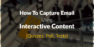 How To Capture Email Using Interactive Content [Quizzes, Poll, Tests]
