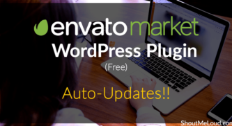 Envato Market WordPress Plugin (Free): Auto-Updates!!