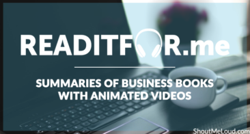 Readitfor.me : Summaries of Business Books with Animated Videos