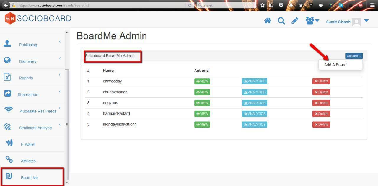Board-Me-Admin-Page
