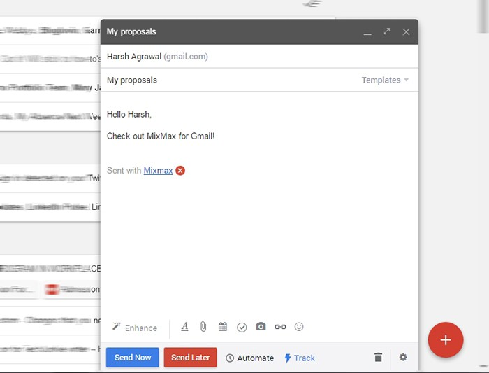 Want To Schedule Email In Gmail Use Mixmax Its Free