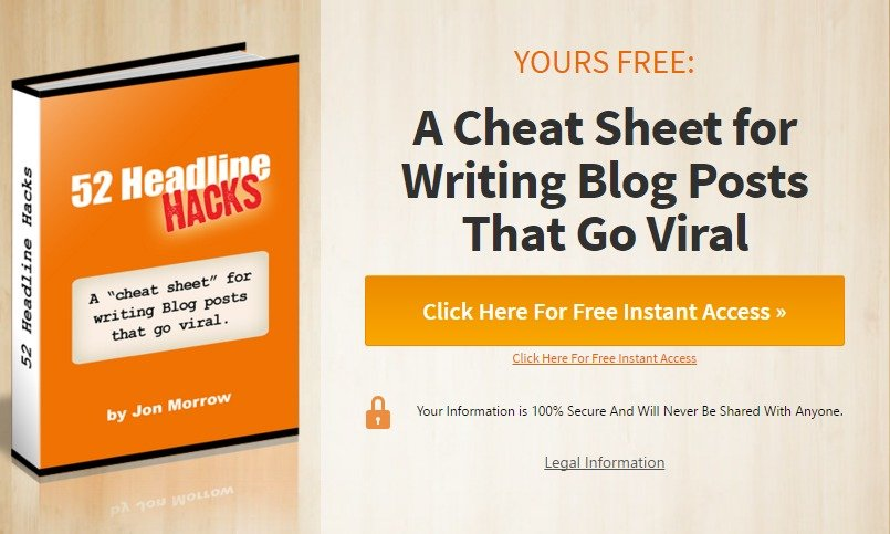 Headline Hacks A Cheat Sheet for Writing Blog Posts That Go Viral