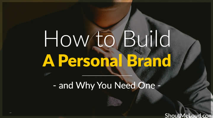 How to Build A Personal Brand