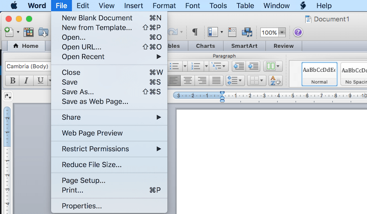 Office-File button
