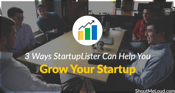 StartupLister for Startup Growth